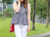 Outfit tendencia vichy