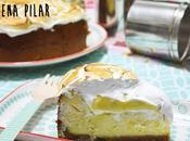 Cheesecake chocolate blanco, lima merengue