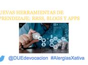 Nuevas Herramientas Aprendizaje: RRSS, blogs Apps #AlergiasXativa