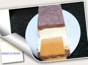 Helado corte chocolate plata vainilla nata