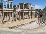 teatro ruinas romanas Mérida. España