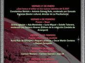 Viernes marzo noche poesía música partida doble