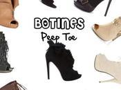 Botines peep
