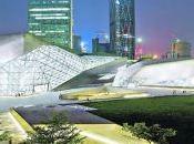 gemas brillan junto Opera Guangzhou Zaha Hadid