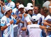 Copa Davis: Argentina cerró serie 4-1, Schwank Mónaco cancha