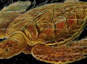 único reptil biofluorescente