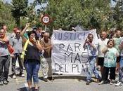 vecinos urbanización Plata cortan entrada Cabra Camp