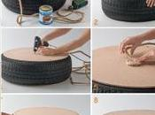 Cómo hacer sillón rústico neumático usado