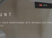 Count Projector: Convierte smartphone proyector interactivo #RealidadAumentada #AugmentedReality @CountYinsCorp @YINSCORP