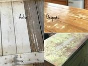 Transformar puerta mesa