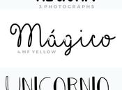 Tipos letras para hacer cartelitos banners