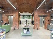 nueva tienda Freitag Milán, espacio basa idea sostenibilidad medio ambiente