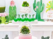 Fiesta temática cactus