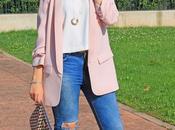 look maxi blazer rosa