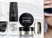 Glamour Futurista Manos Colección Chrome Nails IsaDora