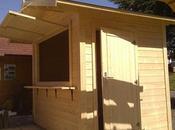 Cómo transformar caseta madera Kiosco.