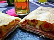 Calzone Mozzarella jamón cocido