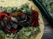 Tortillas estilo mexicano entraña ternera