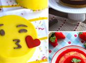 """Mini Tartas Emoji Fondant para Valentín ¡recetas presentación Chocolaterapia""""!"""