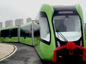 Chinos sorprenden nuevo vehículo transporte inteligente
