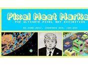 'Pixel Meet Market', exposiciones pixeladas finales junio Barcelona