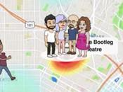 Snapchat ahora tiene mapa para dónde están amigos