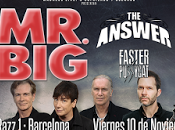 actuarán noviembre Barcelona Madrid Answer Faster Pussycat como teloneros