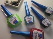 Diseños uñas veraniegos esmaltes Masglo: manicura marinera sandías
