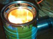 Como hacer cocina cohete casera