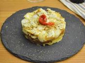 Timbal bacalao, pimiento patatas Reto #asaltablogs