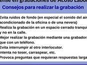 Procedimientos periciales lingüística forense grabaciones involucradas casos Acoso Laboral