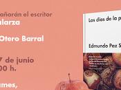"""Presentación """"Los días peste"""" Edmundo Soldán"""