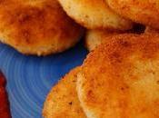 Tortitas donas patata rellenas