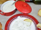 Salsa queso gorgonzola roquefort
