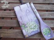 Como decorar tabla cuchara madera decoupage