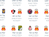 Calendario Morelia para apertura 2017 futbol mexicano