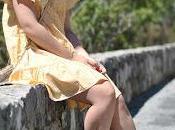 Yellow picnic dress
