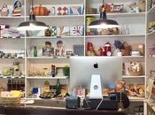 Moderna Singular tienda modernista productos pasado