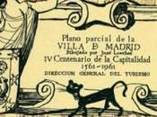 Plano Monumental Madrid motivo Centenario Capitalidad. Madrid, 1961