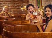 Beer Land, baños cerveza checa