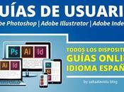 Guías Usuario Online Español Photoshop, Illustrator Indesign