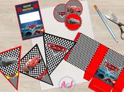 Cars Imprimibles para fiestas (invitación VIP, banderines, toppers…)