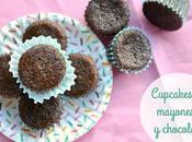 Cupcakes mayonesa chocolate