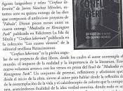 """Sobre """"Confuso laberinto"""" (Reseña Manzana Poética 43-44)"""