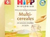 HIPP MULTICEREALES BIOLÓGICOS: nuevos cereales bebé