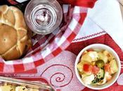 Ensalada campera. receta veraniega (versión vegetariana)