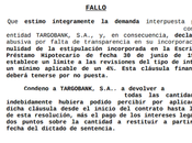 Nueva demanda ganada cláusula suelo recuperando 12000 euros Barcelona