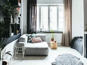 Cómo diminuto apartamento sueco saca máximo provecho metros cuadrados