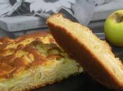 Bizcocho manzana canela