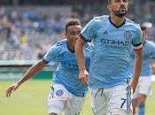 York City jugadores vence Chicago Fire aprieta Conferencia Este